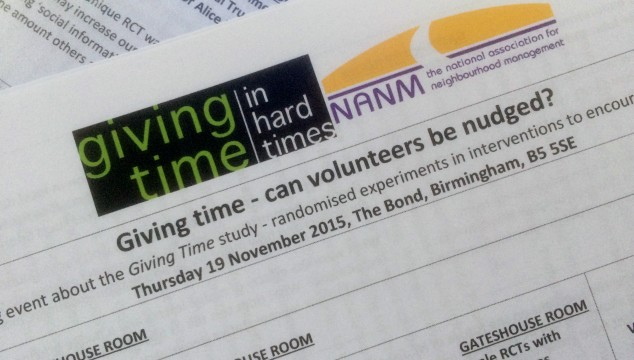 Giving Time event – presentations and resources now available